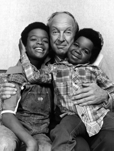 Todd Bridges, Conrad Bain and Gary Coleman in a promo shot for 'Diff'rnt Strokes'