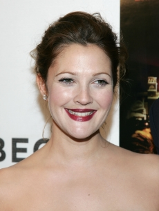 Drew Barrymore at the premiere of 'Lucky You,' NYC, 2007