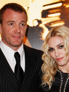 Guy Ritchie and Madonna (Sept. 2008)