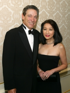 Connie Chung and Maurey Povich