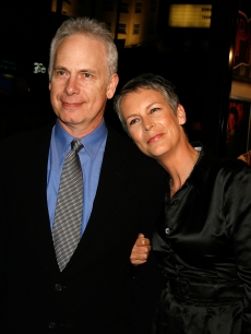 Writerdirector Christopher Guest and wifeactress Jamie Lee Curtis arrive at the Warner Bros. premiere of 'Music and Lyrics' at the Grauman's Chinese Theatre on February 7, 2007 in Hollywood