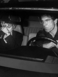 Madonna and  Warren Beatty head to Chinois  Restaurant for her 31st birthday, August, 1989