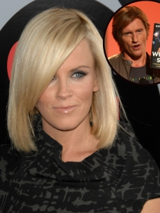 Jenny McCarthy and Denis Leary (inset)
