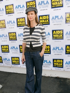 Rachel Griffiths attends the 24th Annual AIDS Walk Los Angeles