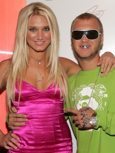 Brooke and Nick Hogan at an event in 2006