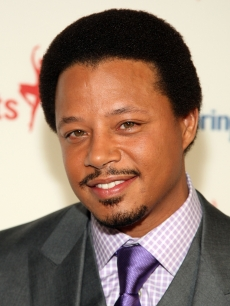 Terrence Howard attends the Exploring the Arts gala at Cipriani, Sept. 23, 2008