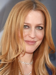 Gillian Anderson arrives at the 'X-Files' Los Angeles premiere, July 23, 2008