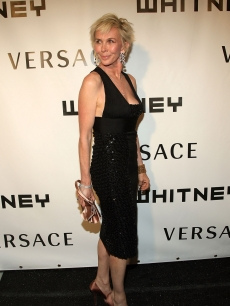 Trudie Styler steps out for the Whitney Museum of American Art Gala, Oct. 2008