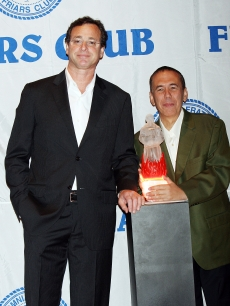Bob Saget and Gilbert Godfried at Matt Lauer's Friars Club Roast