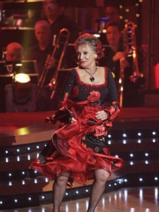 Cloris Leachman and Corky Ballas on &#8216;DWTS&#8217; 