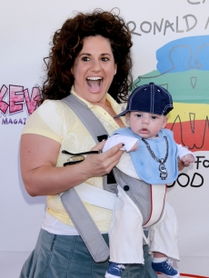 Marissa Jaret Winokur and son Zev Isaac Miller hit the 16th Annual Family Halloween Carnival at Universal Studios