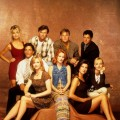 The cast of 'Melrose Place'