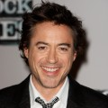 Robert Downey Jr attends a pre-production press conference for 'Sherlock Holmes', at the Freemasons Hall, on October 1, 2008 in London