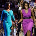 Michelle Obama wearing Maria Pinto dresses