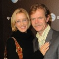 Felicity Huffman and husband William H. Macy at the BlackBerry Bold launch party in LA