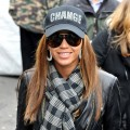 Beyonce attends the 'Promote The Vote' block party
