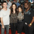 Simon, Kara, Paula and Randy hit the &#8216;American Idol&#8217; red carpet, August 2008