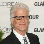 A dapper Ted Danson smiles on the Glamour Women of the Year Awards red carpet 