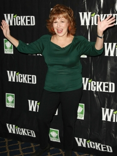 Joy Behar hits the red carpet for the fifth anniversay of 'Wicked'