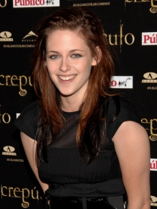 Kristen Stewart at the Spanish premiere of &#8216;Twilight&#8217;