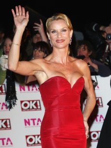 Nicollette Sheridan arrives at the 2008 National Television Awards in London, Oct. 2008