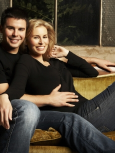Niki Taylor and her NASCAR husband Burney Lamar