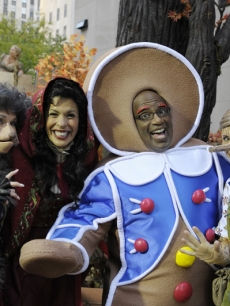 Kathie Lee as the Big Bad Wolf, Hoda Kotb as Little Red Riding Hood, Al as The Gingerbread Man and Meredith as Pinocchio