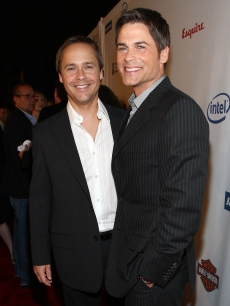 Chad and Rob Lowe arrive at the Hollywood Legacy Awards XI in LA