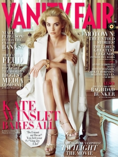 Kate Winslet on the cover of Vanity Fair