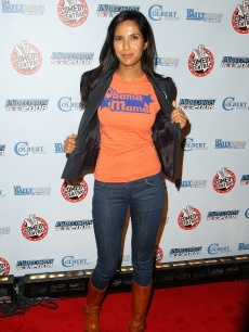 Padma Lakshmi attends Comedy Central's Indecision 2008 Election Night, NYC