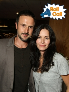 Courteney Cox and husband David Arquette