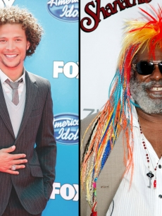 Justin Guarini and George Clinton