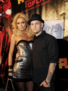 Paris Hilton and Benji Madden arrive to the screening of Paris' 'Repo! The Genetic Opera' in Las Vegas