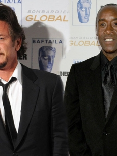 Sean Penn & Don Cheadle At BAFTA LA Britannia Awards