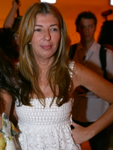 Nina Garcia of 'Project Runway' attends the Cris Barros fashion show, Rio, Nov. 7, 2008