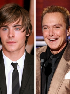 Zac Efron and David Cassidy