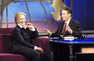 Jon interviews Sen. Hillary Rodham Clinton