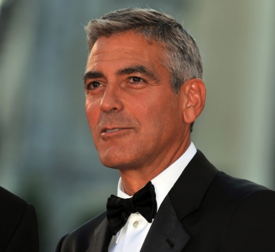 George Clooney at the 65th Venice Film Festival (Aug. 2008)