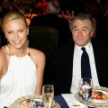 Charlize Theron and Robert DeNiro at the grand opening of the Atlantis resort in Dubai