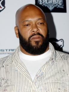 Suge Knight at an NFL draft party in Hollywood (April 2008)