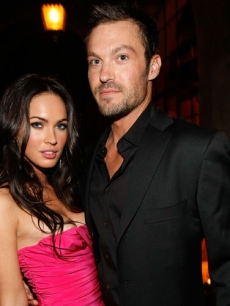 Megan Fox and Brian Austin Green attend the GQ Men of the Year party