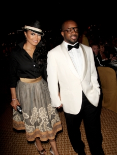 Janet Jackson and Jermaine Dupri at the grand opening of the Atlantis resort in Dubai