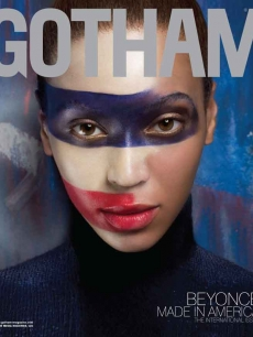 Beyonce on the cover of Gotham Magazone