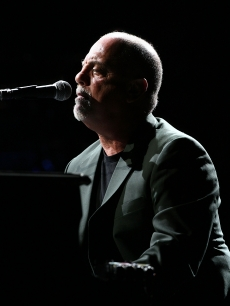 Piano man Billy Joel performs in Perth, Australia