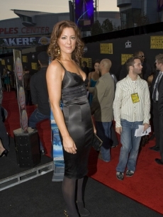 Sarah McLachlan poses in black