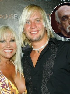 Linda Hogan, Charley Hill and Hulk Hogan