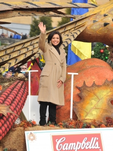 Rachel Ray at the IKEA Thanksgiving Day Parade in Philly