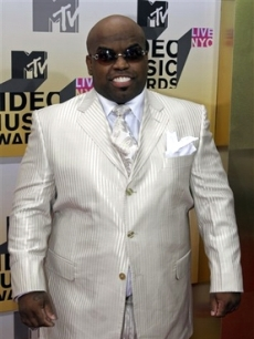 Cee-lo looks great in white