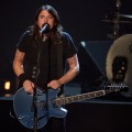 Dave Grohl of the Foo Fighters performs onstage during the Grammy Nominations concert