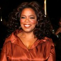 Oprah Winfrey at the Alvin Ailey American Dance Theater's 50th anniversary gala